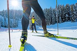 Langlauf skating ski
